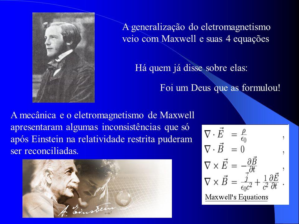 A generalização do eletromagnetismo