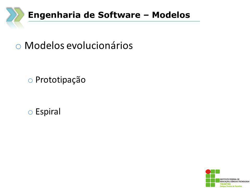 Modelos evolucionários