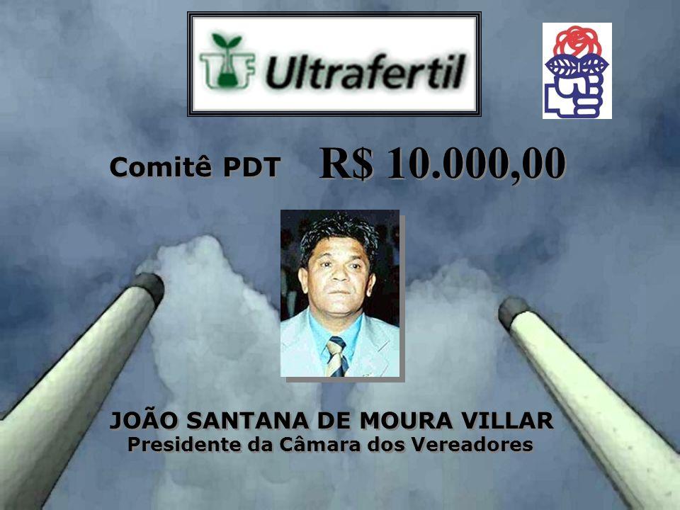 JOÃO SANTANA DE MOURA VILLAR