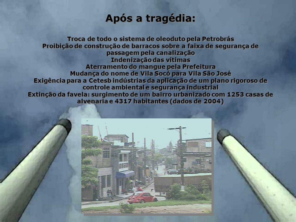 Após a tragédia: Troca de todo o sistema de oleoduto pela Petrobrás
