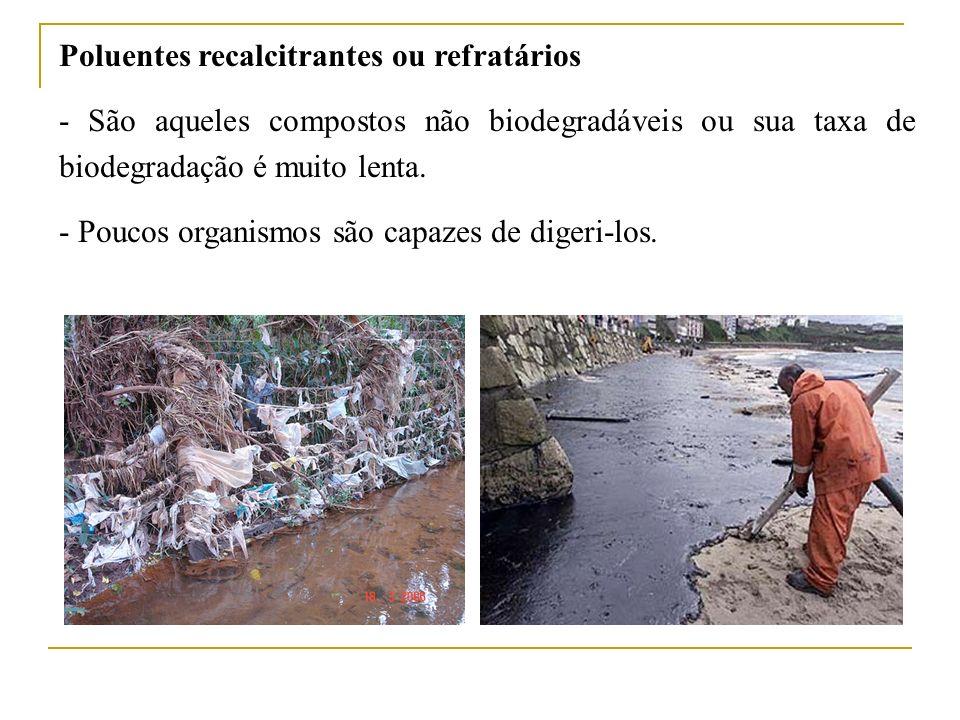 Poluentes recalcitrantes ou refratários