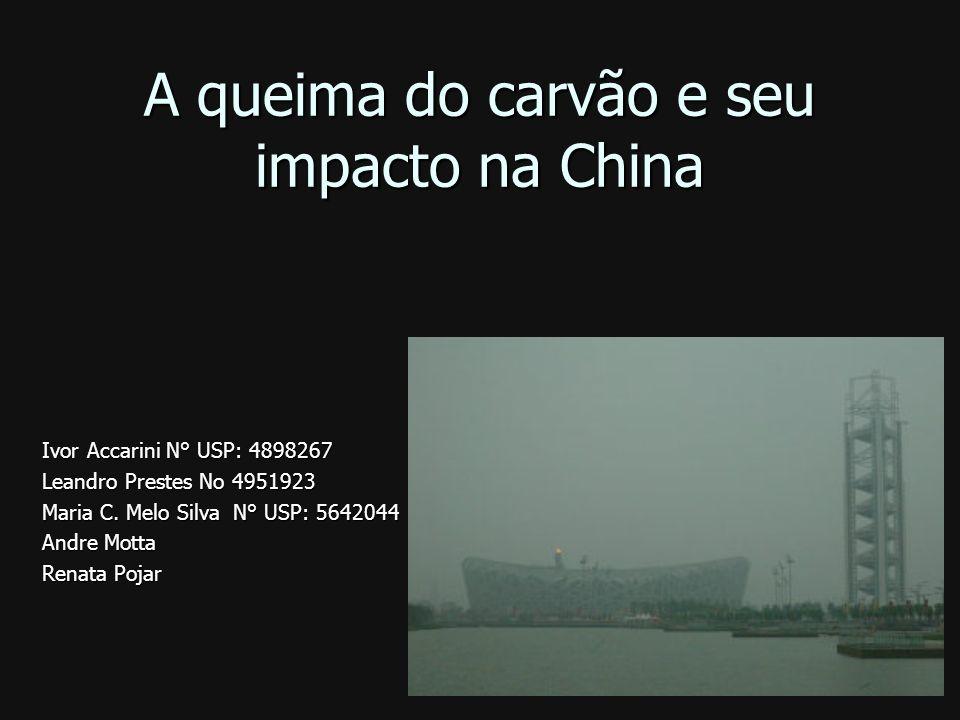 A queima do carvão e seu impacto na China