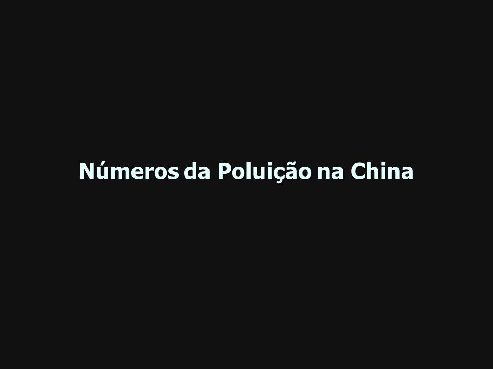 Números da Poluição na China