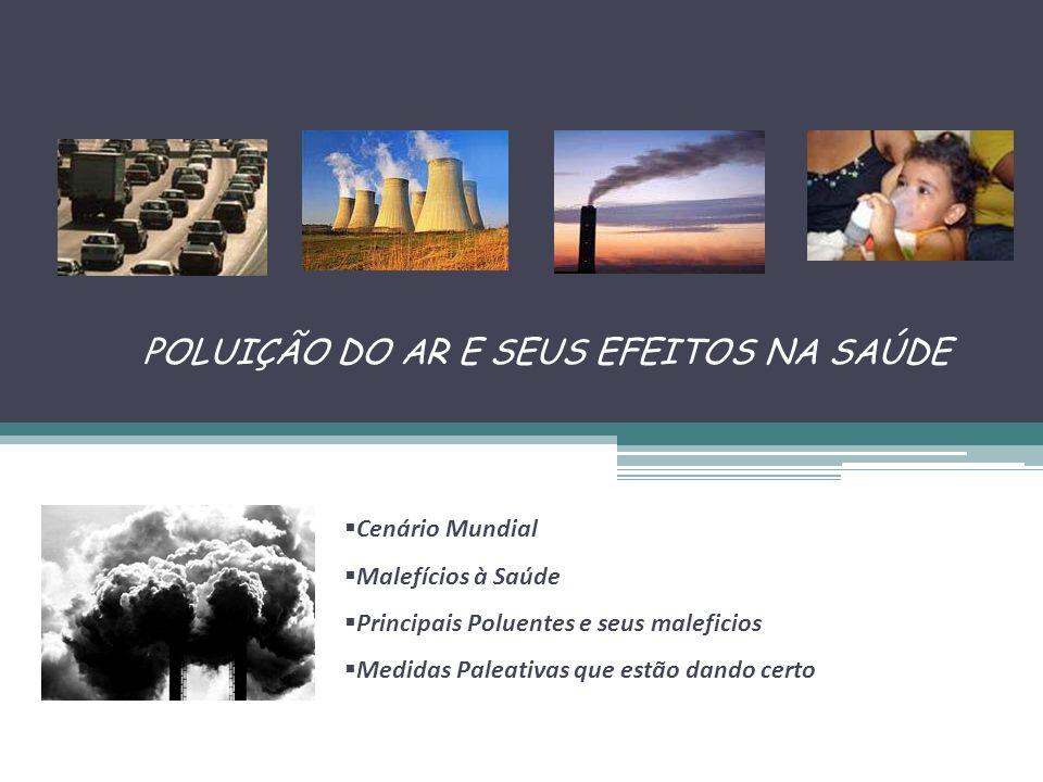 POLUIÇÃO DO AR E SEUS EFEITOS NA SAÚDE