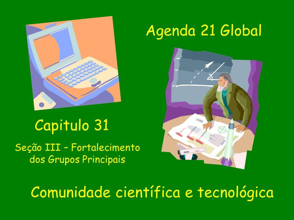 Comunidade científica e tecnológica