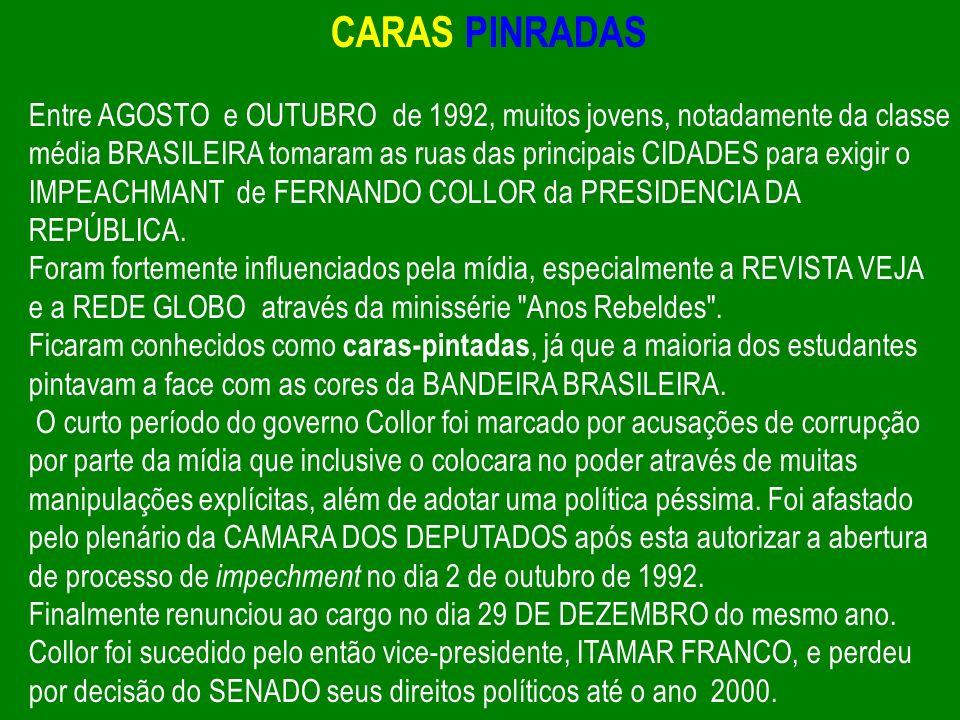CARAS PINRADAS