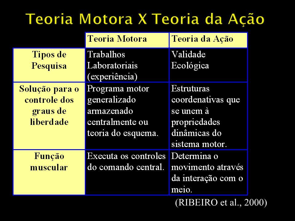 Teoria Motora X Teoria da Ação