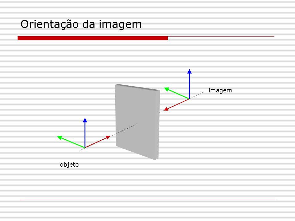 Orientação da imagem imagem objeto