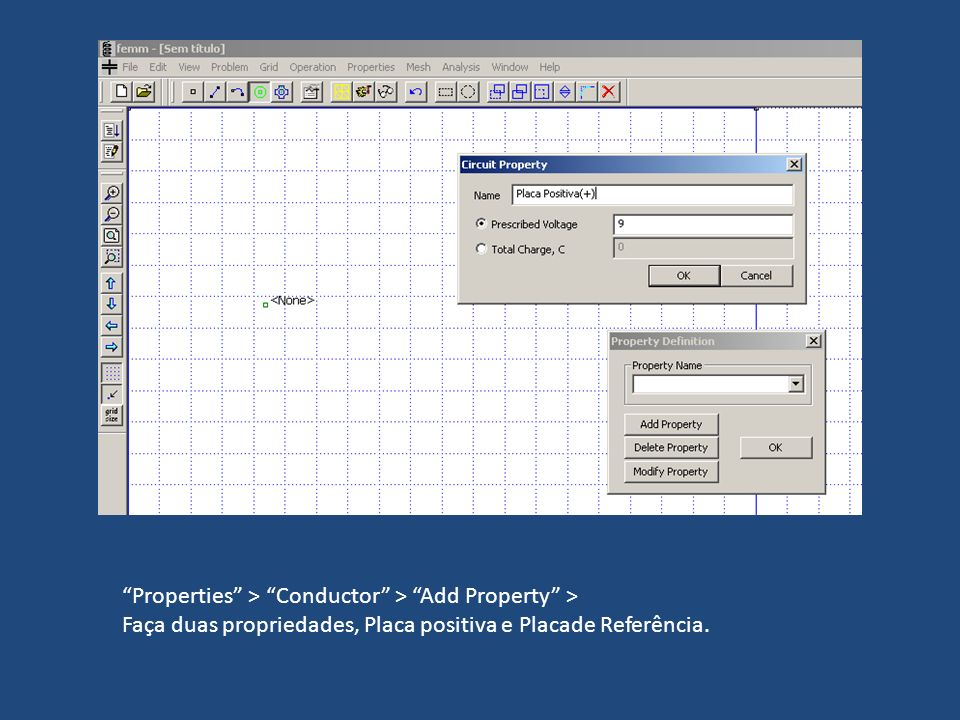 Properties > Conductor > Add Property >