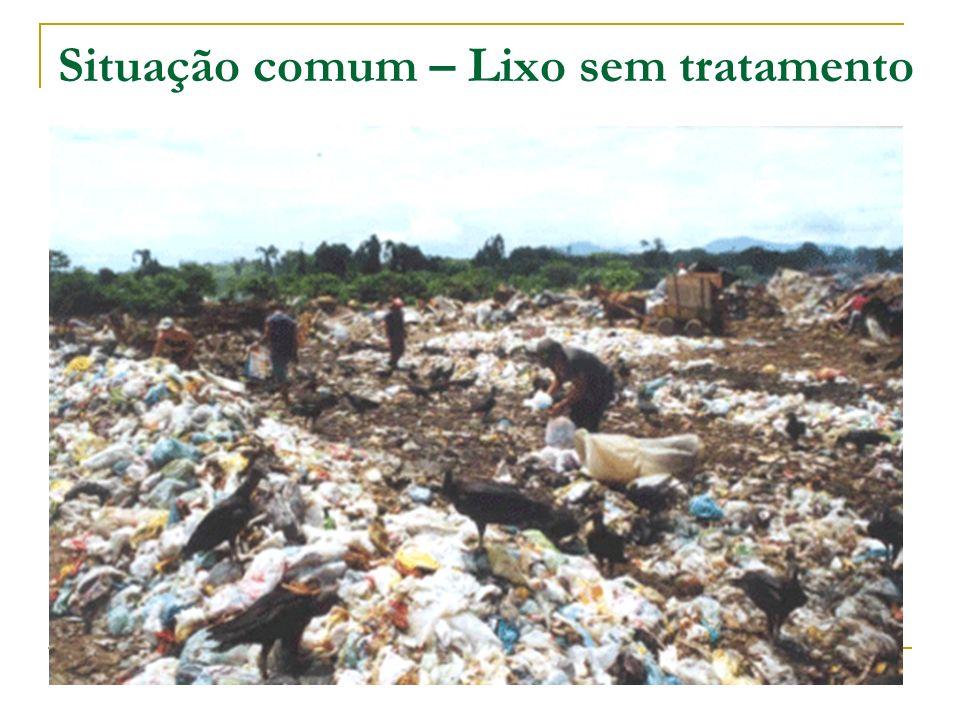 Situação comum – Lixo sem tratamento