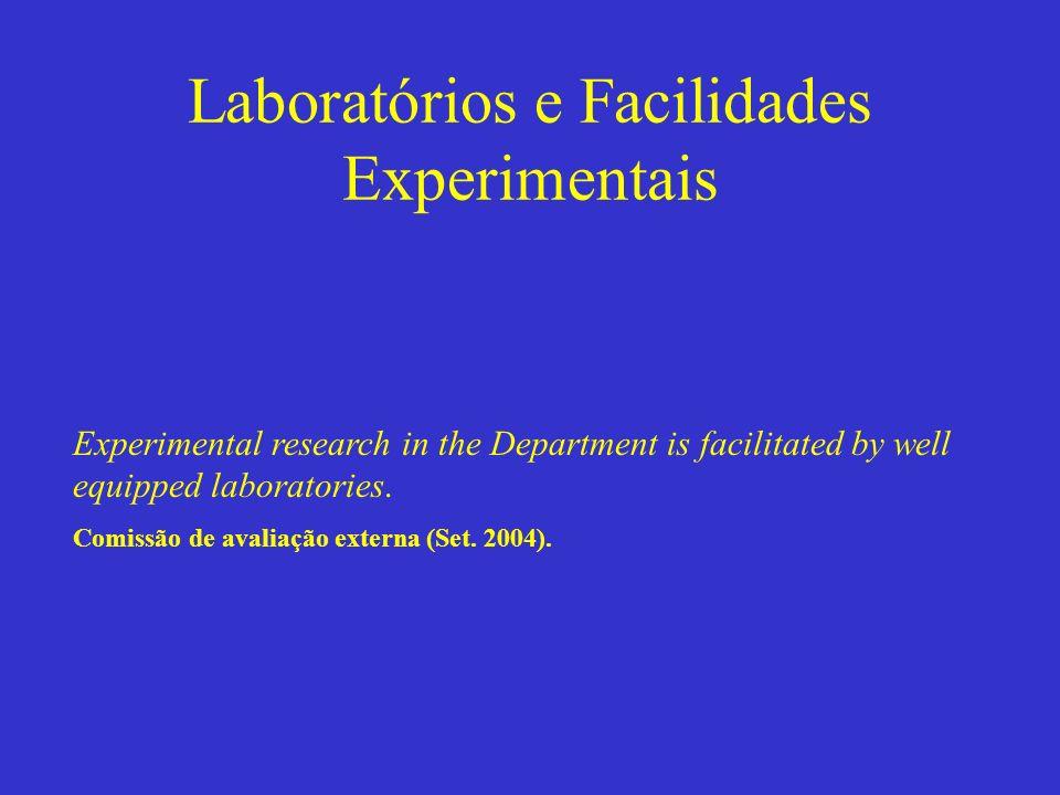 Laboratórios e Facilidades Experimentais