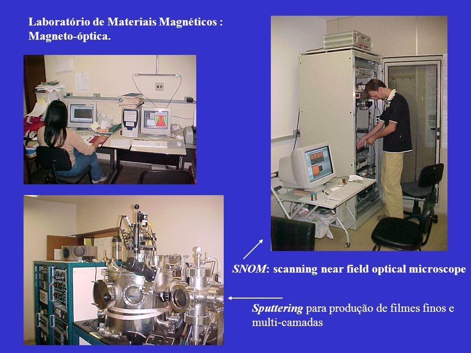 Laboratório de Materiais Magnéticos : Magneto-óptica.