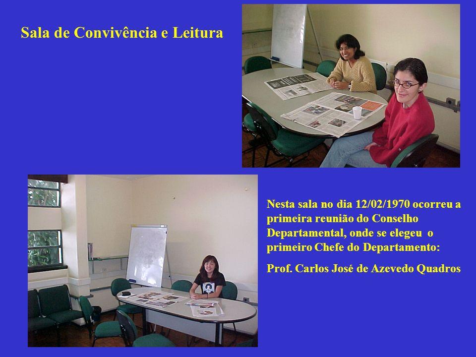 Sala de Convivência e Leitura