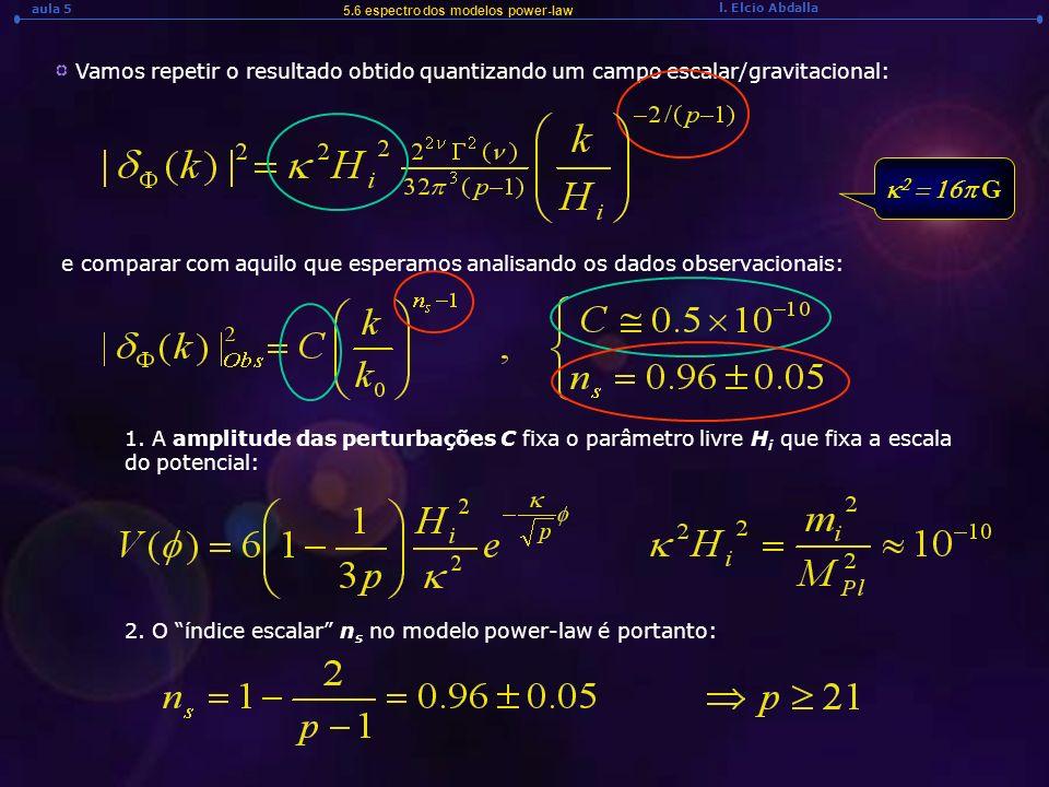 5.6 espectro dos modelos power-law
