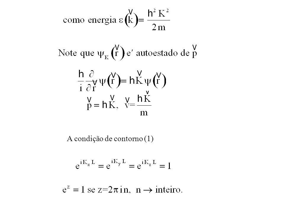 A condição de contorno (1)