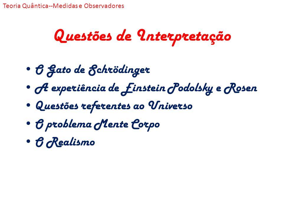 Questões de Interpretação