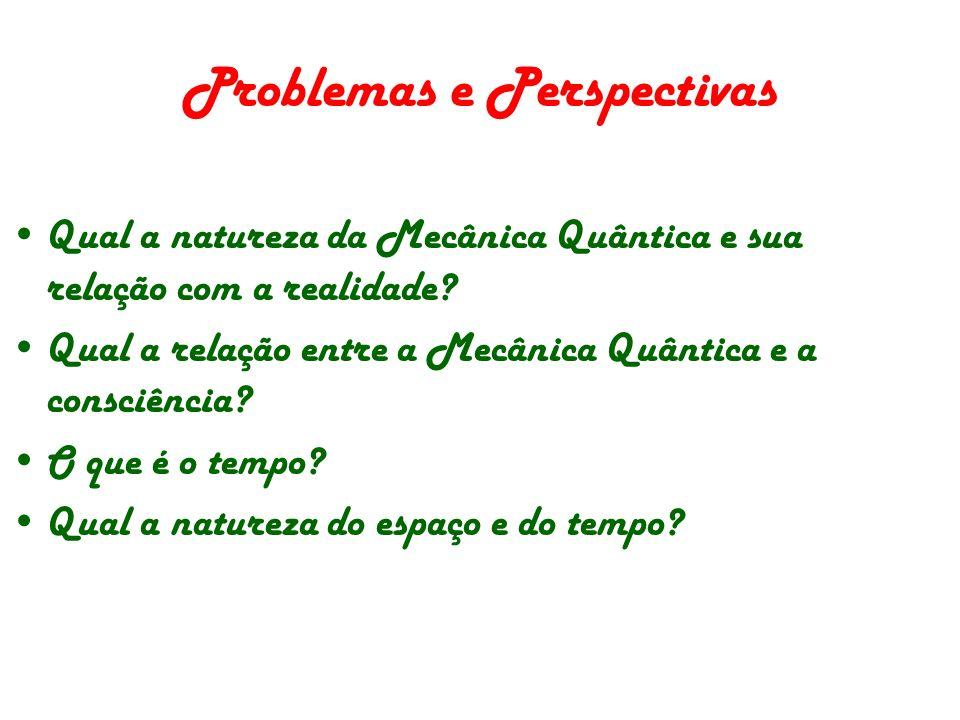 Problemas e Perspectivas