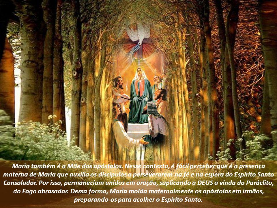 Maria também é a Mãe dos apóstolos