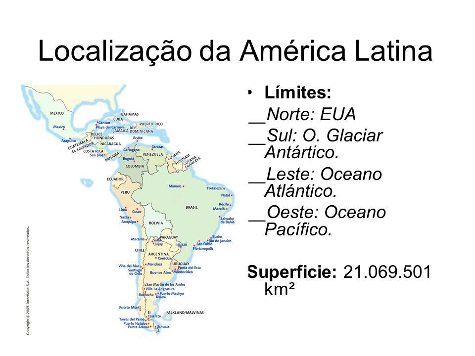 Localização da América Latina