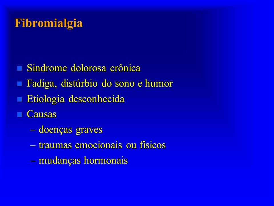 Fibromialgia Sindrome dolorosa crônica