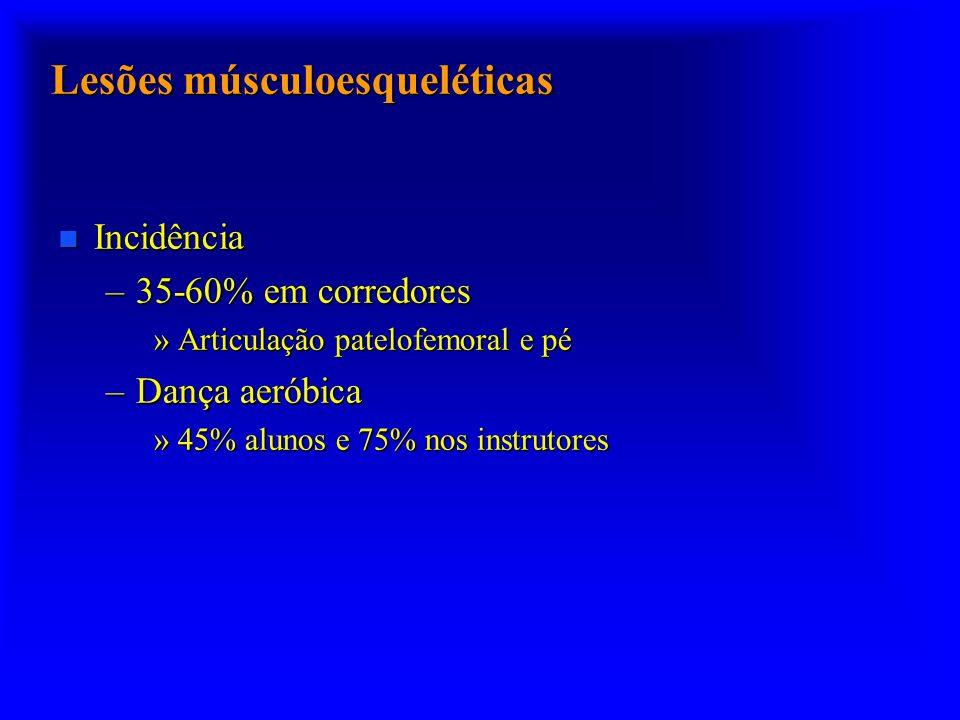 Lesões músculoesqueléticas