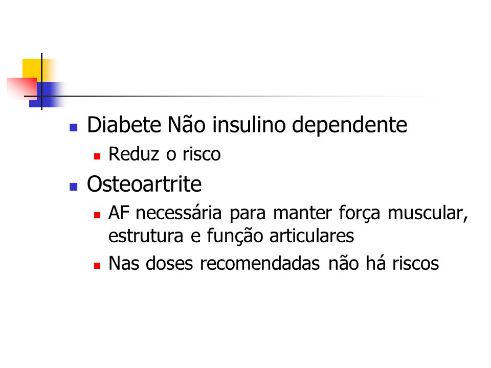 Diabete Não insulino dependente Osteoartrite