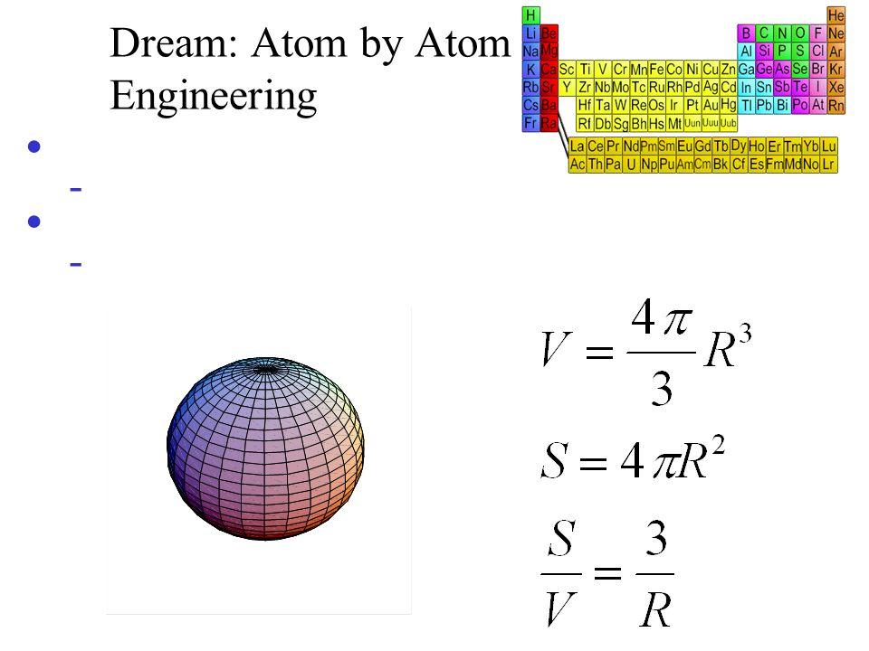 Dream: Atom by Atom Engineering