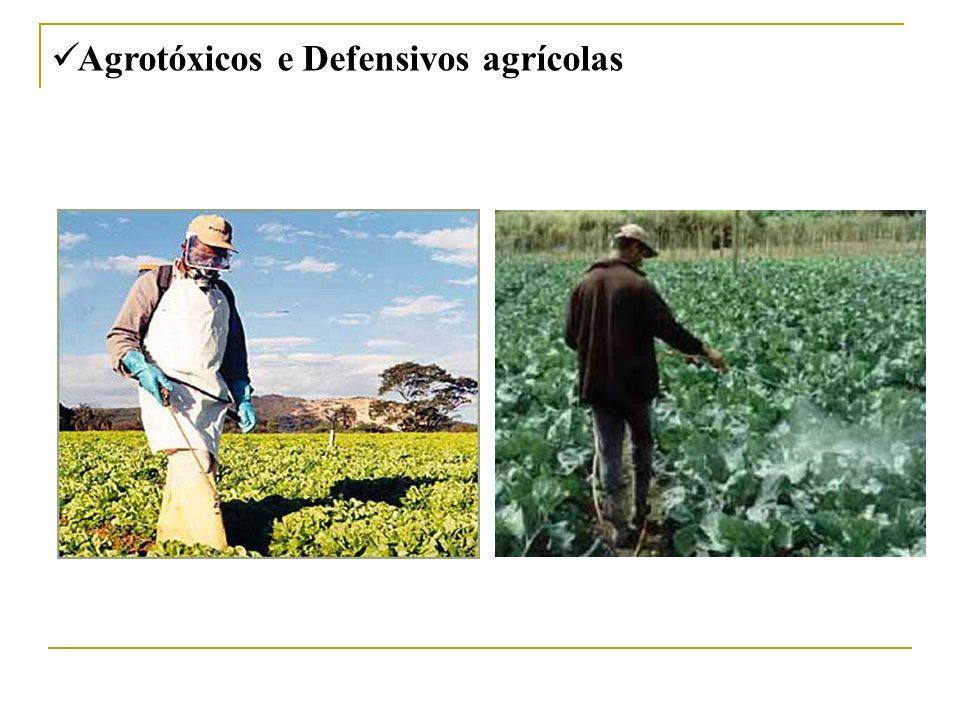 Agrotóxicos e Defensivos agrícolas