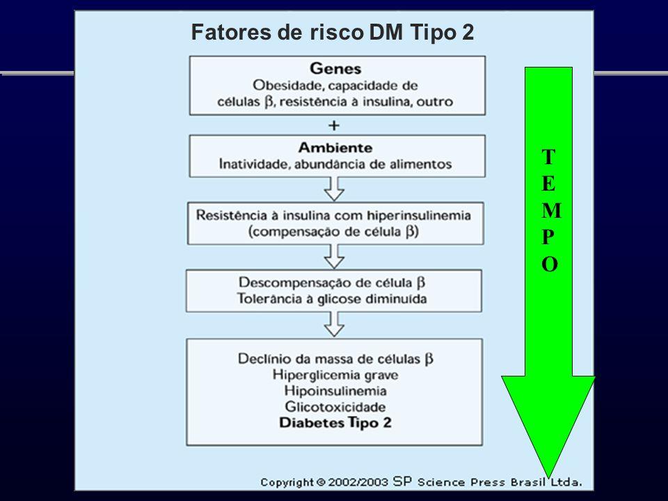 Fatores de risco DM Tipo 2