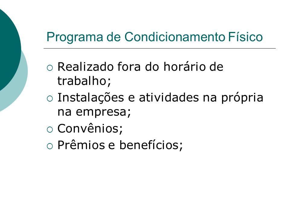 Programa de Condicionamento Físico