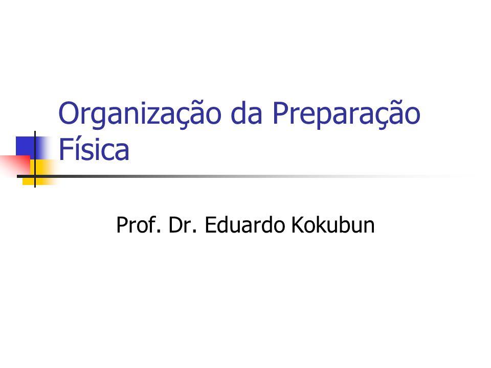 Organização da Preparação Física