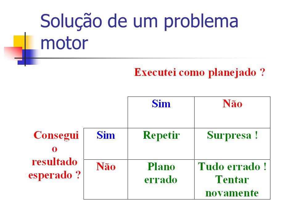 Solução de um problema motor