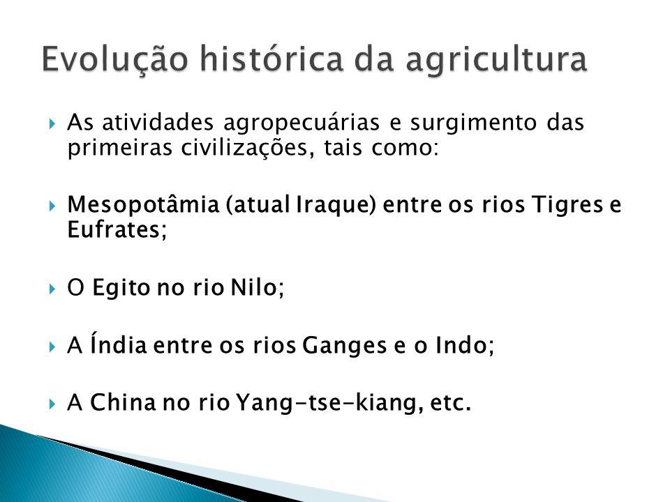 Evolução histórica da agricultura