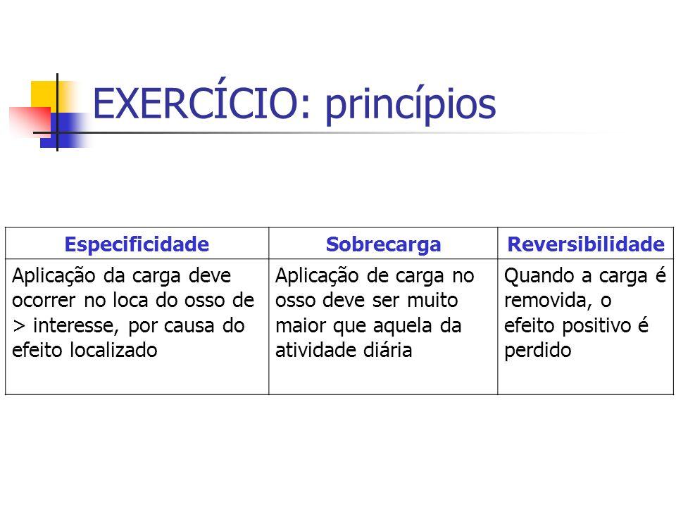 EXERCÍCIO: princípios