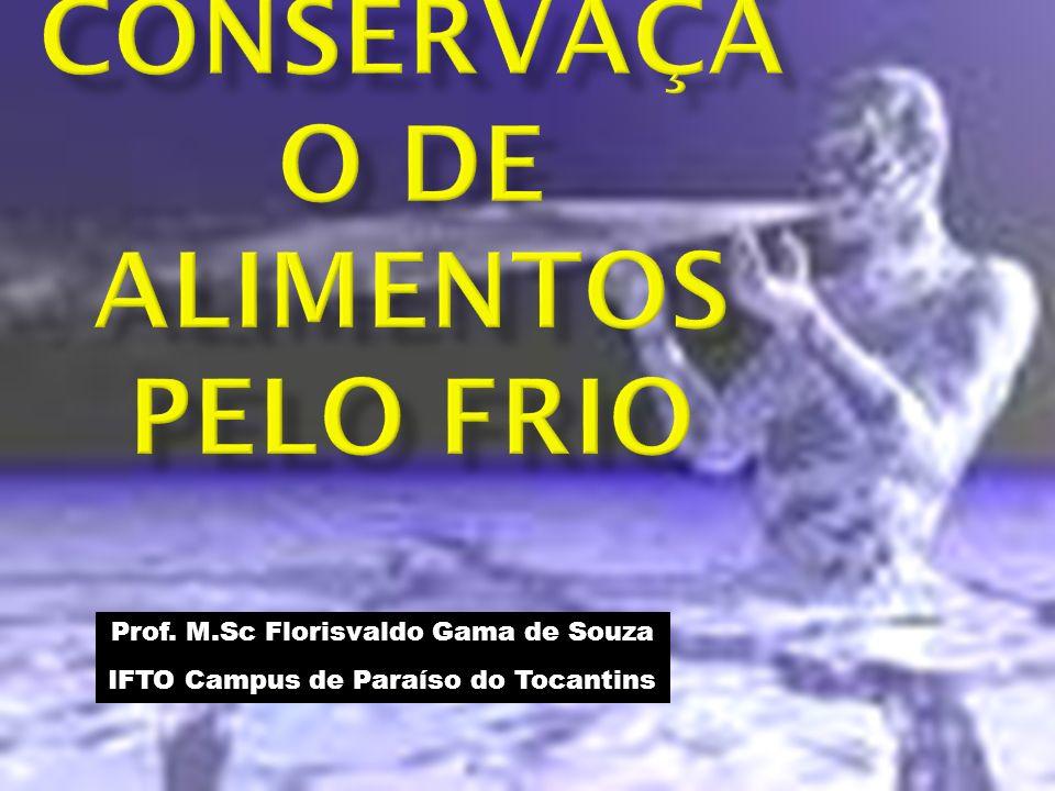 CONSERVAÇÃO DE ALIMENTOS PELO FRIO