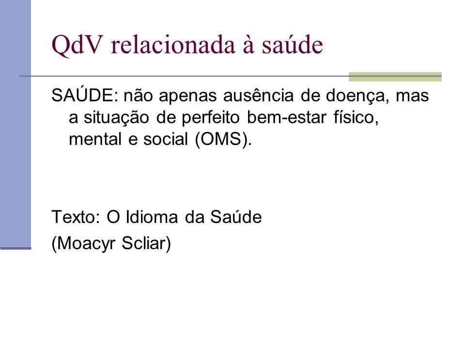 QdV relacionada à saúde