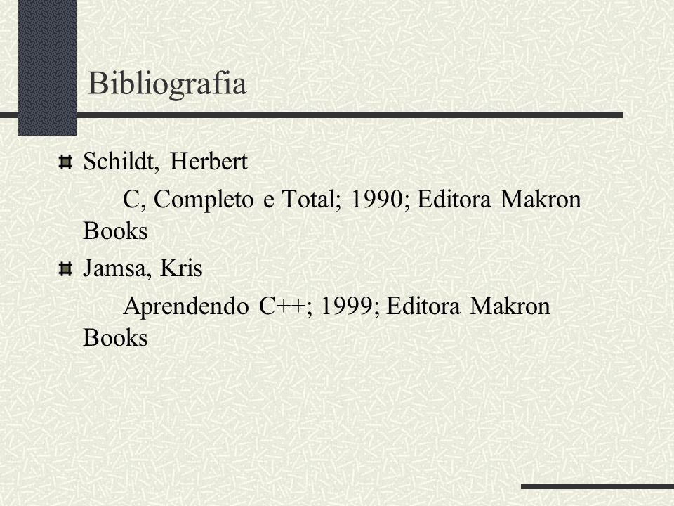 Bibliografia Schildt, Herbert