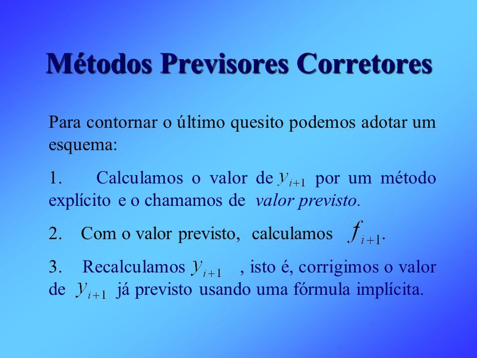 Métodos Previsores Corretores