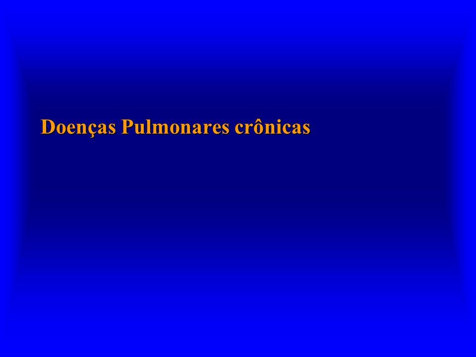 Doenças Pulmonares crônicas