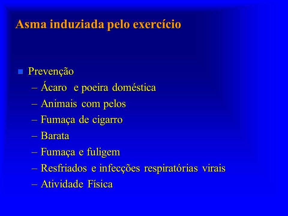 Asma induziada pelo exercício