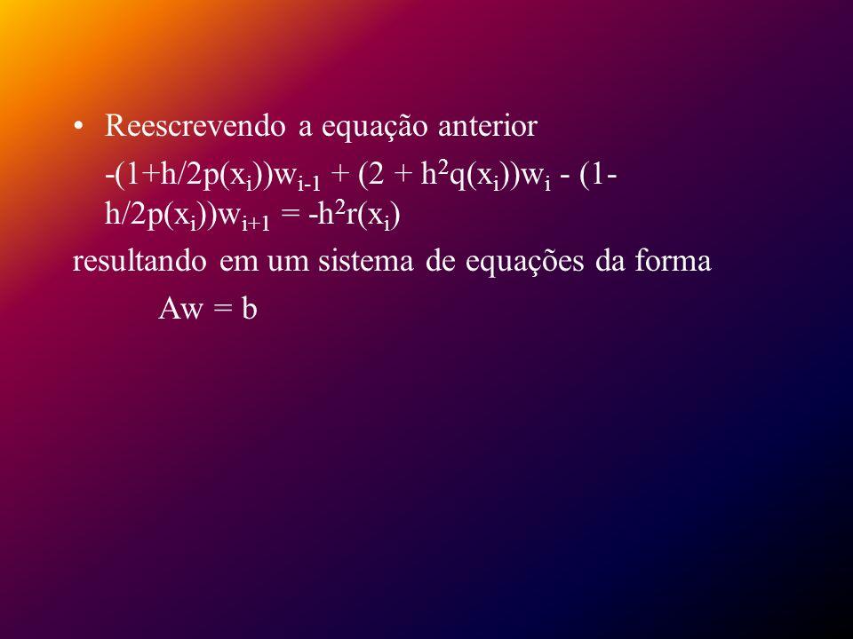 Reescrevendo a equação anterior