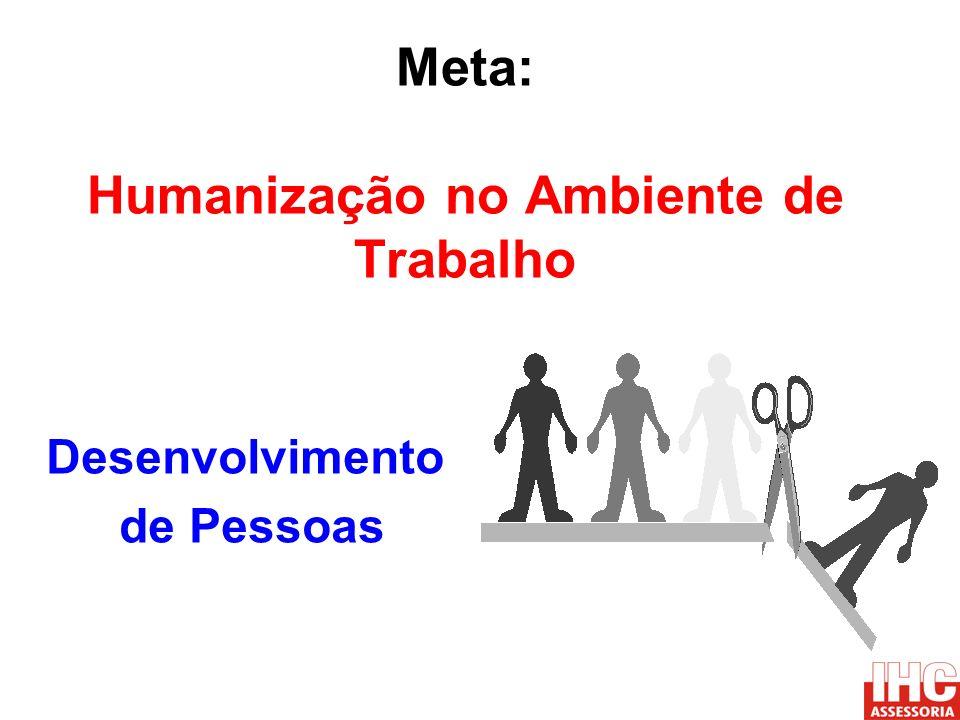 Meta: Humanização no Ambiente de Trabalho