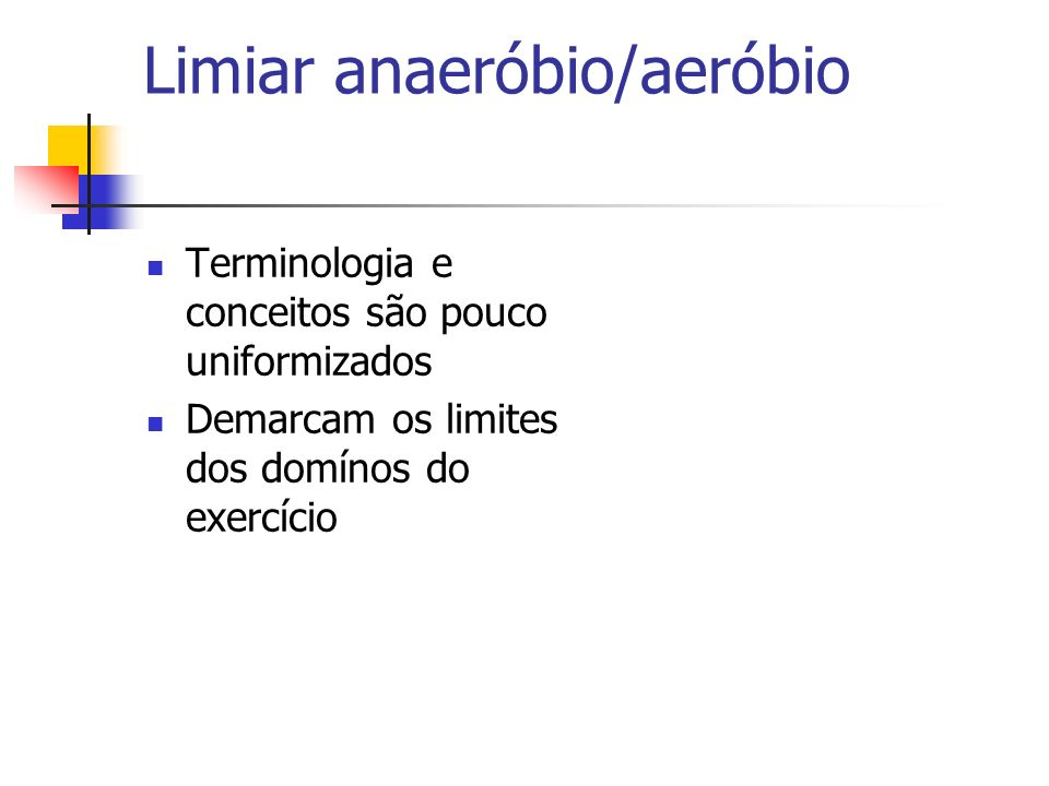 Limiar anaeróbio/aeróbio