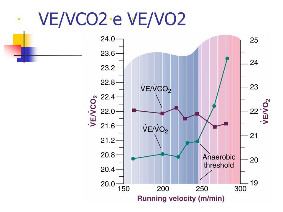 . VE/VCO2 e VE/VO2