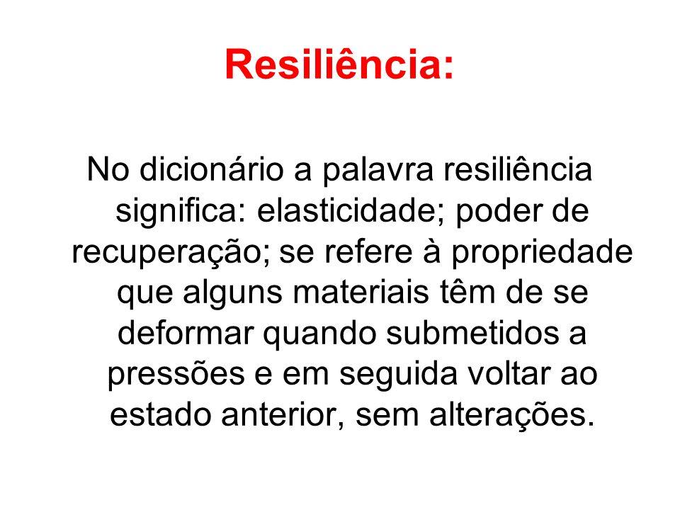 Resiliência: