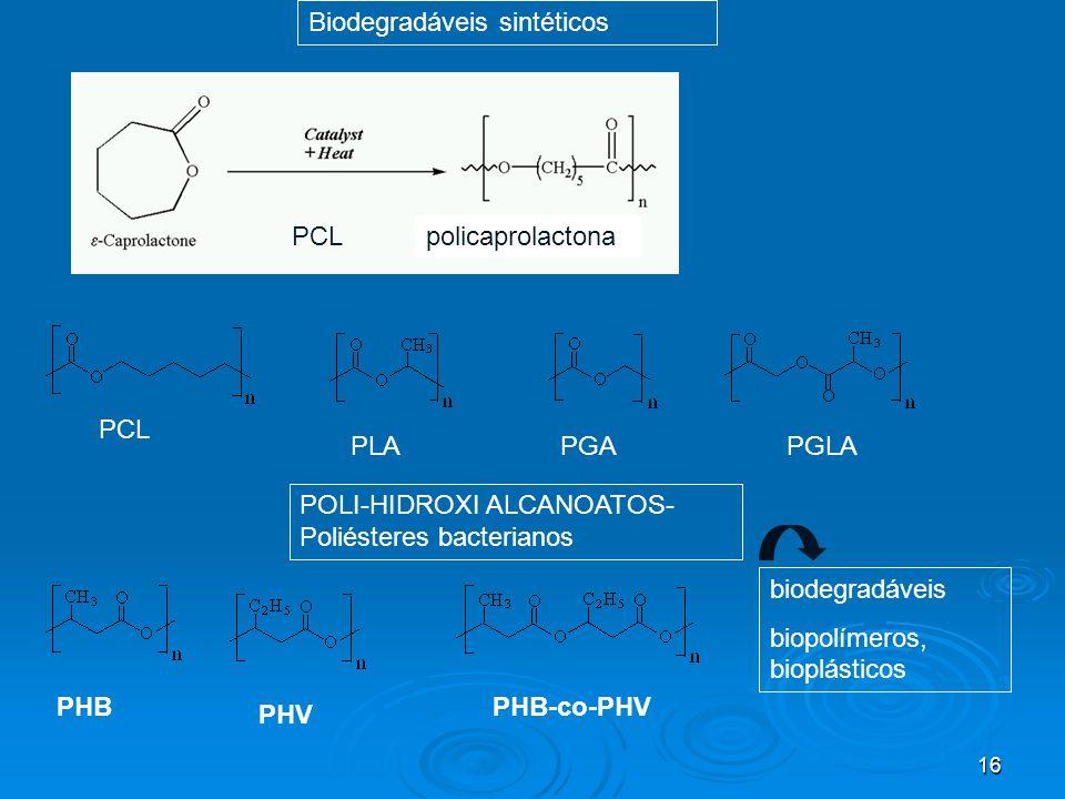 Biodegradáveis sintéticos