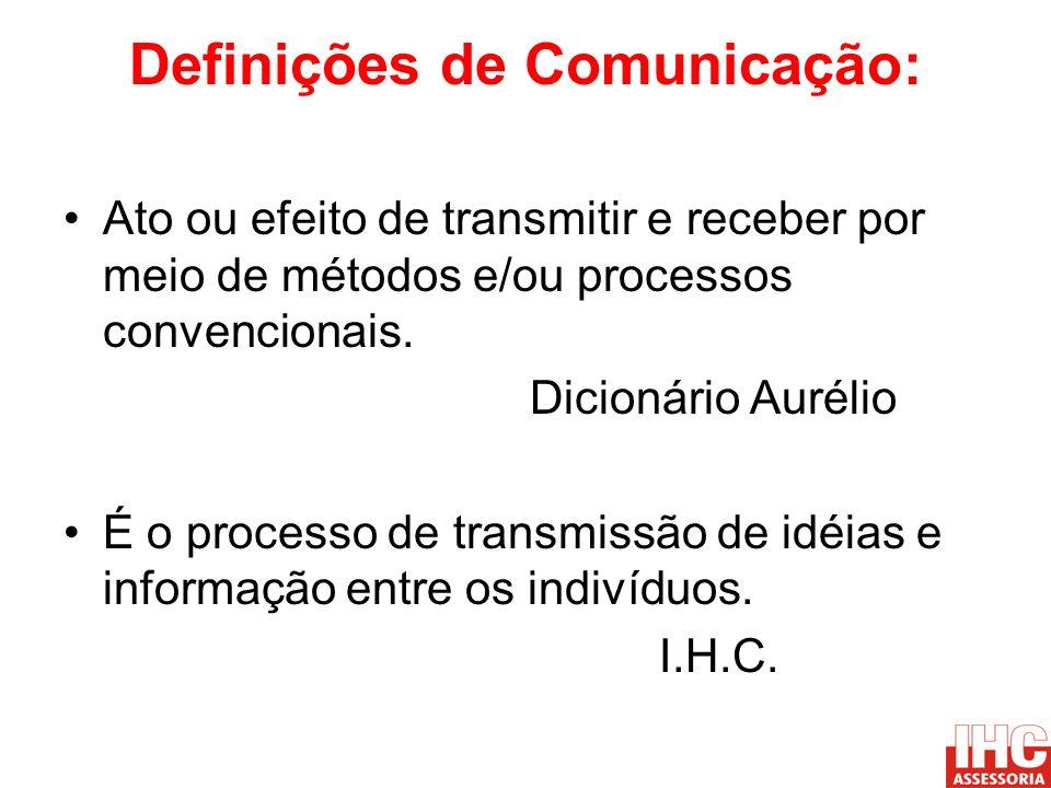 Definições de Comunicação: