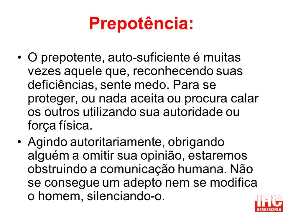 Prepotência:
