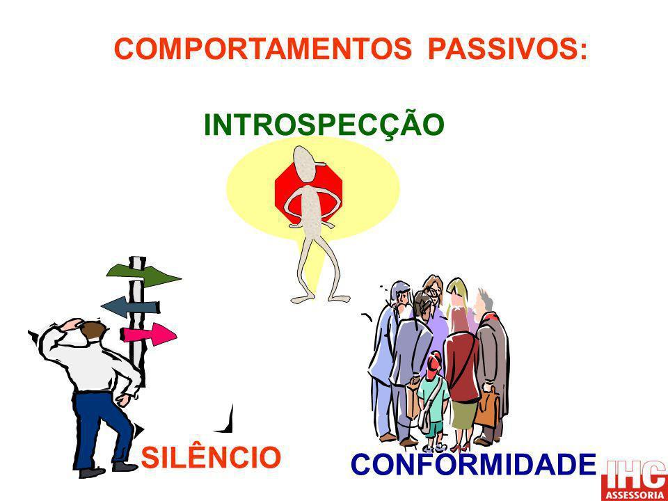 COMPORTAMENTOS PASSIVOS: