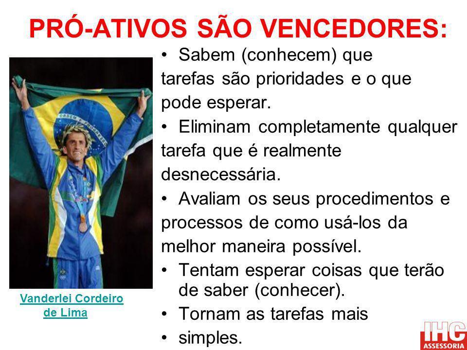 PRÓ-ATIVOS SÃO VENCEDORES: